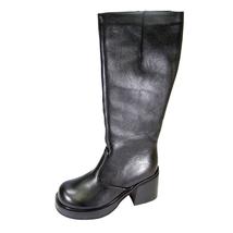 PEERAGE Terri Women's Wide Width Side Zip Leather Knee High Boots - $89.95
