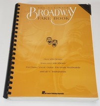 THE ULTIMATE BROADWAY FAKE BOOK over 650 songs from 200 shows - $39.99