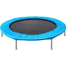 45 Inch Small Round Trampoline Outdoor Bouncing Bed Without Handle Ship ... - $119.99