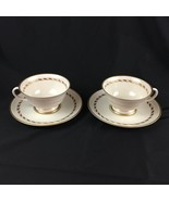 Set of 2 Franciscan China Del Monte Cups & Saucers Fine China USA - $15.88