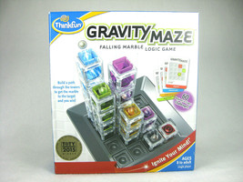 Gravity Maze Falling Marble Logic Game by Thinkfun, New - $29.65