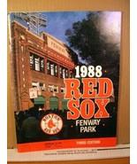 1988 Boston Red Sox Scorebook Magazine Fenway Park Third Edition - $8.99
