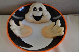GHOST HALLOWEEN ANIMATED CANDY DISH - TALKS, SOUND - €12,18 EUR