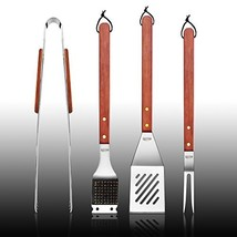 New Star Foodservice 59007 Stainless Steel Barbecue Tool Set with Solid ... - $22.19