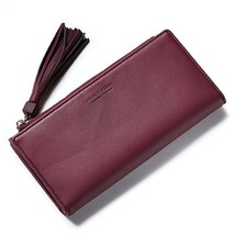 Women Clutch Long Wallet Leather Bag ID Card Holder Cell Phone Cash Mone... - $22.70 CAD