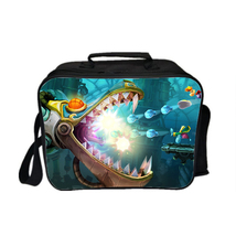 Rayman Kid Adult Lunch Box Lunch Bag Picnic Bag E - $19.99