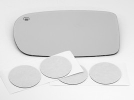 Fits 11-16 Dodge Charger, Chrysler 300 Left Driver Mirror Glass Lens Heated - $36.95