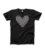 Keith Haring Heart Of Men - Icon Series Street Art T-Shirt - $19.75+