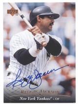 1995 Upper Deck Autograph #AC1 Reggie Jackson AU - New York Yankees AUTO CARD - $40.00
