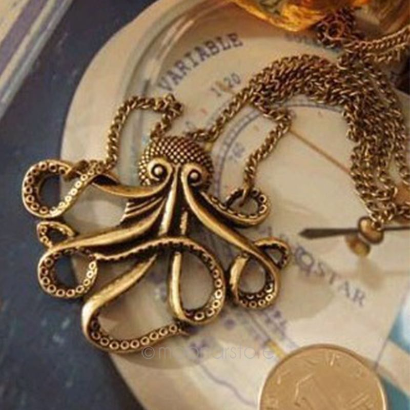 Primary image for Fashion Statement Necklaces Pendants for Women Octopus Collier Femme classic