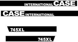 CASE 745XL  INTERNATIONAL  - Tractor decal set, reproduction - $45.00