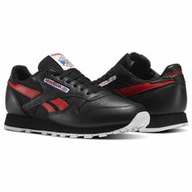 Reebok Men's Classic Leather So Trainers Running Shoes BS5208 - Black/Re... - $79.47