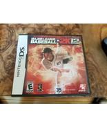 Major League Baseball 2K12 2012 Nintendo DS Lite DSi XL 3DS 2DS w/Case &... - $12.86