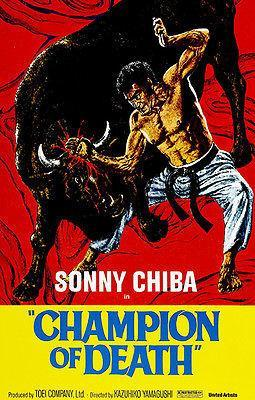 Primary image for Champion of Death - 1975 - Movie Poster