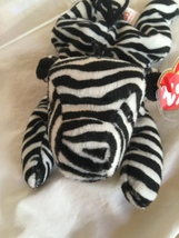 MWMT/Ty Original Ziggy (Zebra)/PVC Pellets/Rare Numerical DOB/Retired - $750.00
