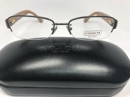 New Coach HC 5027B Cecily 9094 Dark Brown/Dark Tortoise Eyeglasses 52mm ... - $65.81