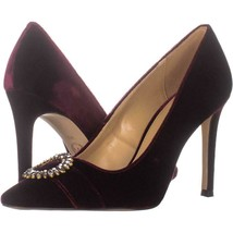 MICHAEL Michael Kors Viola Pointed Toe Pumps 528, Oxblood, 10 US - $39.35