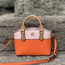 Tory Burch Robinson Color Block Top Handle Mini Bag - $240.00