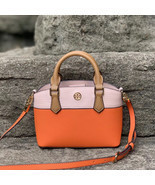 Tory Burch Robinson Color Block Top Handle Mini Bag - £193.32 GBP
