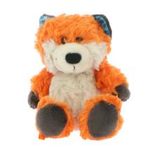 NICI Fox Finolin Orange Blue Ears Stuffed Animal Dangling 6 inches 15 cm - $16.00