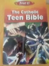 Prove It The Catholic Teen Bible The New American Bible Amy Welborn  - $11.99