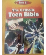 Prove It The Catholic Teen Bible The New American Bible Amy Welborn  - $11.99