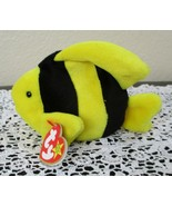Ty Beanie Baby Bubbles the Fish 4th Generation Hang Tag 3rd Generation T... - $12.61