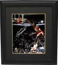 Dominique Wilkins signed Atlanta Hawks 8x10 Photo Custom Framed (dunk co... - £77.61 GBP