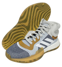 adidas Marquee Boost Men's Basketball Shoes Casual Gray Brown NWT G27741 - $135.19