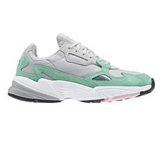 Adidas Original Falcon Grey Watermelon Green Womens Running Shoes B28127 - £42.37 GBP