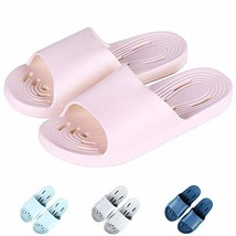 Giway Pink Womens Bathroom Shower Sandal Quick Dry EVA Bath Slippers Hou... - $10.49