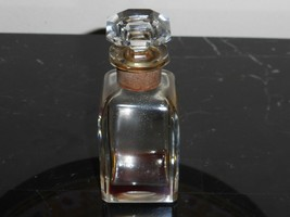 """Vintage Baccarat Lilas By Soubise Empty Perfume Bottle 3 3/4"""" Tall - $49.00"""