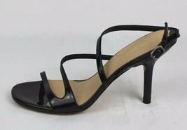 Via Spiga black patent leather upper strappy sandals size 8M - $31.89