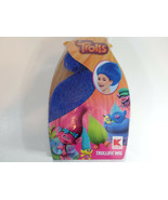 Trolls Dreamworks Blue Wig Girl New Dress Up Play Costume Age 3+Trollifi... - $14.95