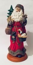 "Lynn Haney Through The Years Gentle St. Nick Christmas Santa Figure 12"" - $54.44"