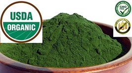 Pure Organic Wheatgrass Juice Powder ~ Grown in The USA - No fillers ~2 oz Bag - $11.87