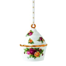 Royal Albert Old Country Roses Cupcake Ornament NEW (s) - $17.75