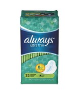 Ultra Thin Pads With Wings, Super Long, 32/pack, 6pk/carton - $87.32