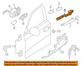 Front Door Handle Base Rh For 13-18 Nissan Altima 806105HA0A Oem Nos Open Box - $36.88