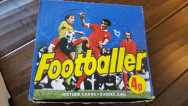 1976-77 TOPPS UK ENGLAND FOOTBALLER EPL SOCCER UNOPENED WAX BOX OF 48 PA... - $2,999.99