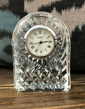 Waterford Ireland Crystal Clock Small Preowned - $47.51