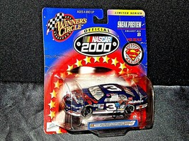 NASCAR Winner's Circle NASCAR Superman black # 3 Dale Earnhardt Limited Series image 1