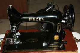 Singer 99k Antique Sewing Machine dec20 #5 - $345.51