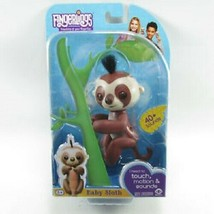 Fingerlings Brown Baby Sloth Kingsley |BRAND NEW SEALED WowWee AUTHENTIC - $11.29