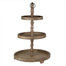 "Woodruff 3-Tier Round Serving Tray D19""x30"" - HP42249 - £77.55 GBP"