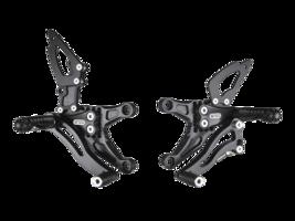 Bonamici Aluminum Adjustable 07-08 Kawasaki ZX-6R Rearsets Rear Sets - $439.99