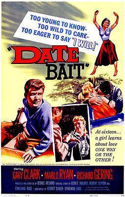 Primary image for Date Bait - 1960 - Movie Poster