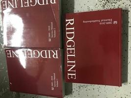 2009 2010 honda ridgeline service repair workshop manual set with etm worn - $89.07