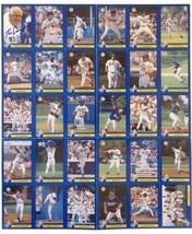 1995 Los Angeles Dodgers autographed card set - $79.99