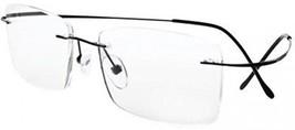 Eyekepper Titanium Rimless Eyeglasses Men Black - $47.95